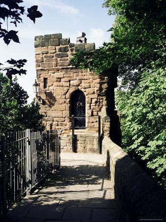 Boneswaldesthornes Tower, Chester City Walls, Chester, Cheshire, England, United Kingdom