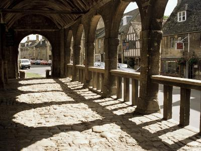Market Hall, Chipping Campden, Gloucestershire, the Cotswolds, England, United Kingdom