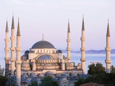 The Blue Mosque, Unesco World Heritage Site, Istanbul, Turkey