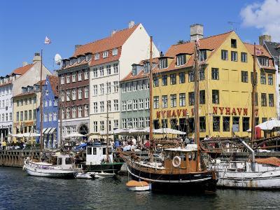 Nyhavn Canal, Copenhagen, Denmark, Scandinavia