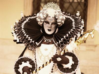Carnival Costume, Venice, Veneto, Italy