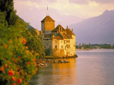 Chateau De Chillon, Lake Generva, Montreux, Switzerland