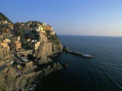 Village of Manarola, Cinque Terre, Unesco World Heritage Site, Liguria, Italy, Mediterranean