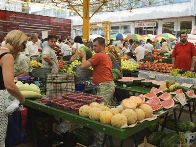 Fruit and Vegetable Market, Sarajevo, Bosnia, Bosnia-Herzegovina