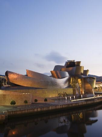 Guggenheim Modern Art Museum Designed by Frank Gehry, Bilbao, Basque Country, Euskadi, Spain