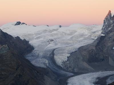Monte Rosa Glacier at Dusk, Zermatt Alpine Resort, Valais, Switzerland