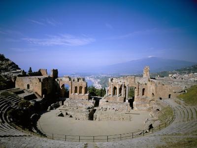 Taormina, Island of Sicily, Italy, Mediterranean