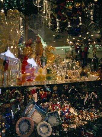 Glass Shop, Venice, Veneto, Italy