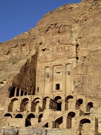 Urn Tomb, Petra, Unesco World Heritage Site, Jordan, Middle East