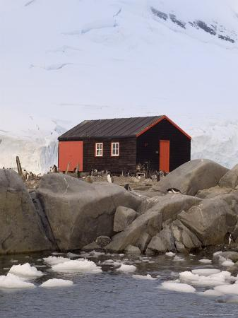 British Base, Port Lockroy, Antarctic Peninsula, Antarctica, Polar Regions