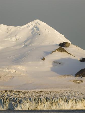 Charity Glacier, False Bay, Livingston Island, South Shetland Islands, Antarctica, Polar Regions