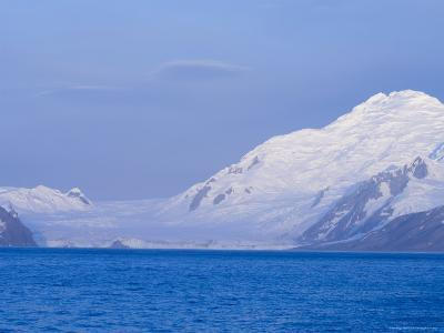 Charity Glacier, False Bay, Livingston Island, South Shetland Islands, Antarctica, Polar Regions