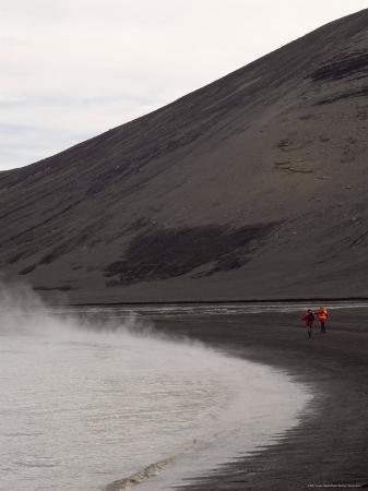 Deception Island, South Shetland Islands, Antarctica, Polar Regions