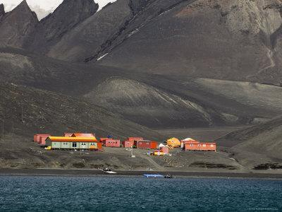 Spanish Base, Deception Island, South Shetland Islands, Antarctica, Polar Regions