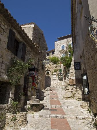 Eze Village, Alpes Maritimes, Provence, Cote d'Azur, France