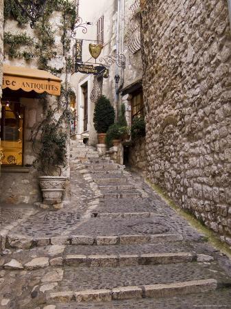 St. Paul De Vence, Alpes Maritimes, Provence, Cote d'Azur, France