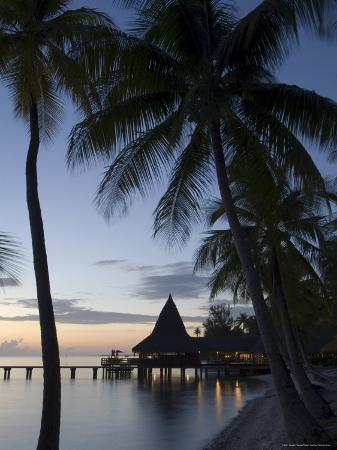 Kia Ora Resort, Rangiroa, Tuamotu Archipelago, French Polynesia Islands