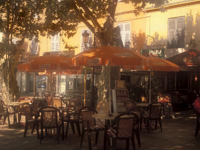 Sidewalk Cafe, Bastia, Corsica, France, Mediterranean