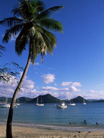 Pigeon Point, Rodney Bay, St. Lucia, Windward Islands, West Indies, Caribbean, Central America