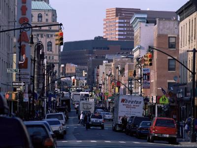 Busy Traffic on Smith Street, Brooklyn, New York, New York State, USA