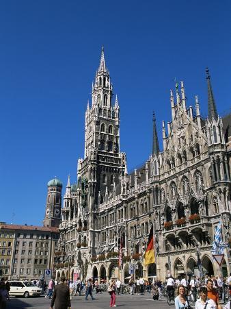 City Hall, Marienplatz, Munich, Bavaria, Germany