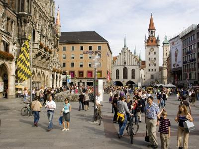 Old City Hall, Munich, Bavaria, Germany