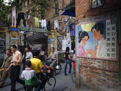 Street Scene, Guangzhou, Guangdong Province, China