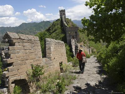 Simatai Section of the Great Wall, Unesco World Heritage Site, Near Beijing, China