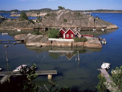 Summer Cottage on the West Side of Sandefjordsfjord, Vestfold, Norway, Scandinavia