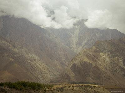 Dramatic Summer Monsoon Clouds Over the Karakoram Ranges, Northern Areas, Pakistan