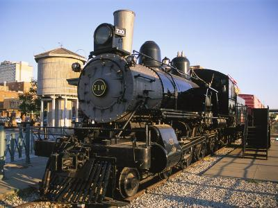Locomotive, Haymarket District, Lincoln, Nebraska, USA