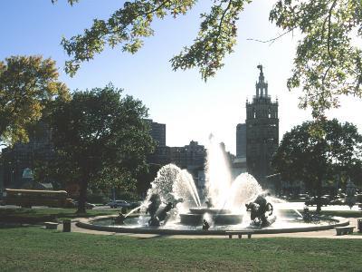 J.C. Nichols Fountain, Country Club Plaza, Kansas City, Missouri, USA