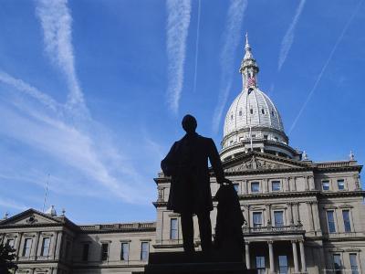 Michigan State Capitol, Lansing, Michigan, USA
