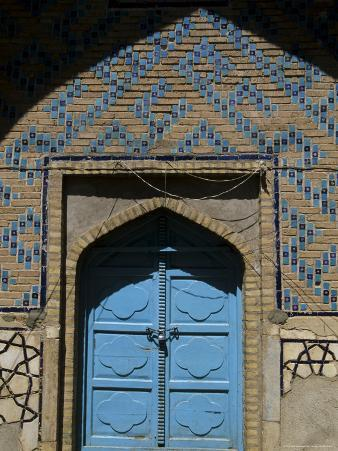 Doorway at the Shrine of Khwaja Abdulla Ansari, Gazar Gah, Afghanistan