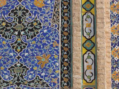 Detail of Tilework on the Friday Mosque or Masjet-Ejam, Herat, Afghanistan