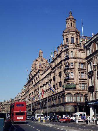 Harrods, Knightsbridge, London, England, United Kingdom