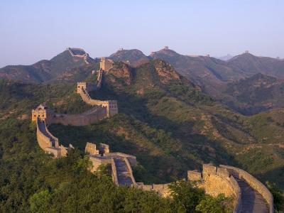 The Great Wall, Near Jing Hang Ling, Unesco World Heritage Site, Beijing, China