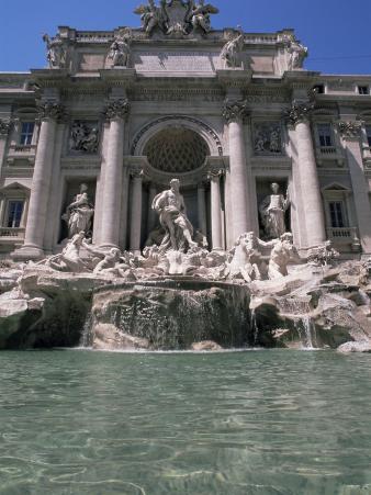 The Trevi Fountain, Rome, Lazio, Italy