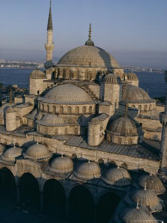 Sultan Ahmet I Mosque (The Blue Mosque), Unesco World Heritage Site, Istanbul, Turkey