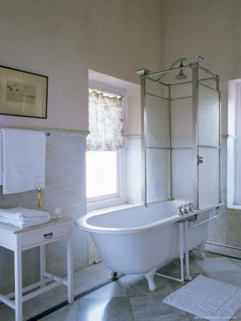 One of the Original Bathrooms from the 1930s and 1940s, Udai Bilas Palace