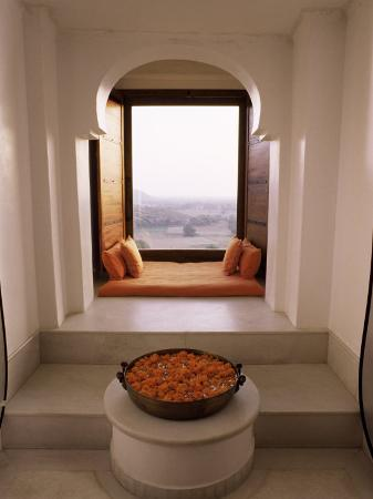 Seating Area in the Honeymoon Suite, Devi Garh Fort Palace Hotel, Near Udaipur, India