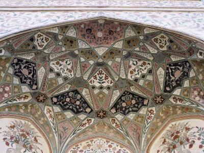 Interior Detail, Amber Fort, One of the Great Rajput Forts, Amber, Near Jaipur, India