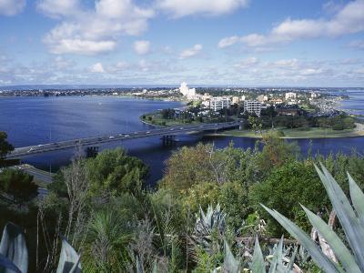 Bridge Over the Swan River, Perth, Western Australia, Australia