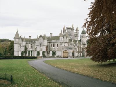 Balmoral Castle, Aberdeenshire, Highland Region, Scotland, United Kingdom