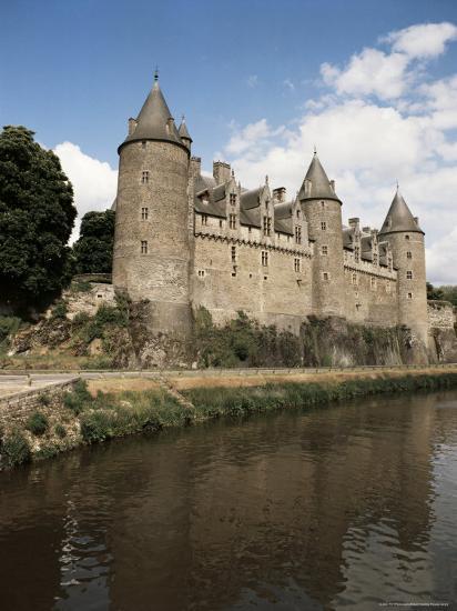 Josselin Castle Bretagne Brittany France Photographic