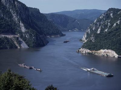 Iron Gates Area of the River Danube (Dunav), Serbia