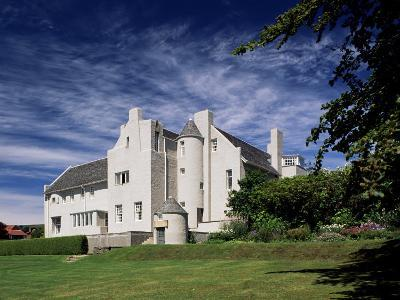 Hill House, Built 1902-1904 by Charles Rennie Mackintosh, Helensburgh, Scotland