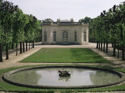 Music Room, Petit Trianon, Versailles, France