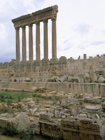 Ruins of Baalbek, Unesco World Heritage Site, Lebanon, Middle East