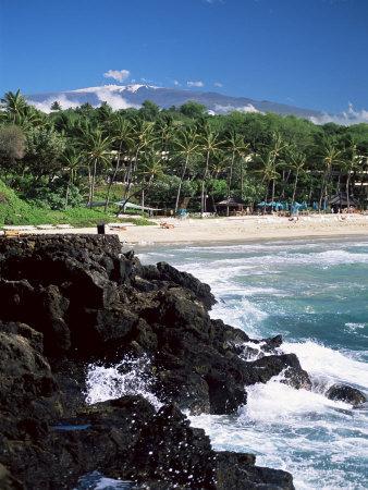 Kauna Oa Beach, at Mauna Kea Beach Hotel, Island of Hawaii, United States of America